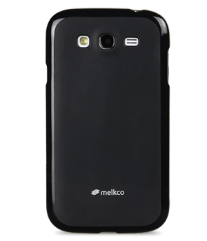 Чехол силиконовый для Samsung Galaxy Grand Neo (i9060) Melkco Poly Jacket TPU (Black Mat)